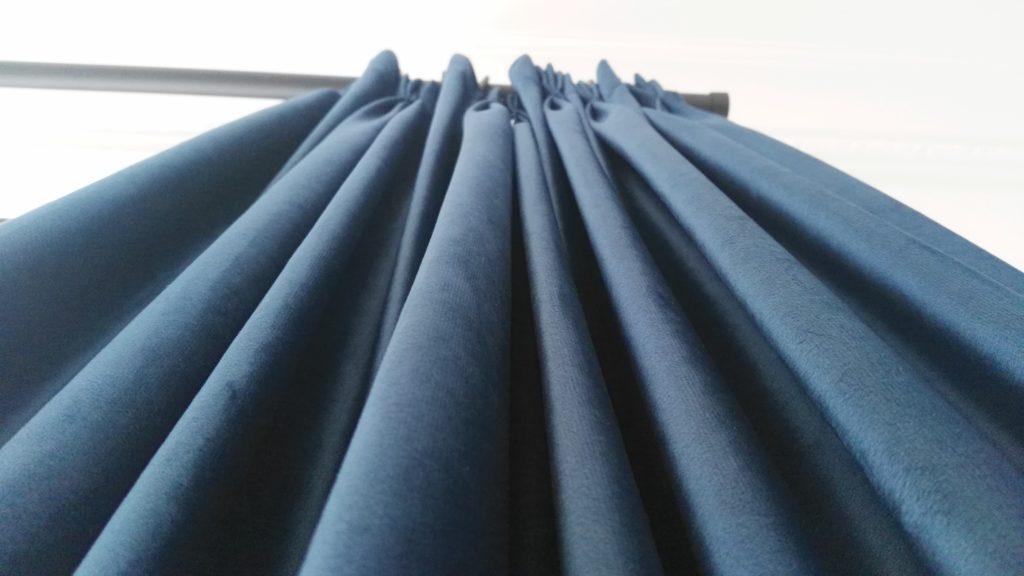 cortinas de tela tupida
