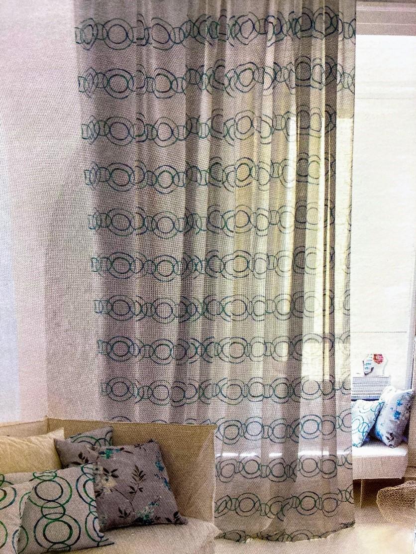 Los colores de las cortinas deben estar coordinados con el entorno